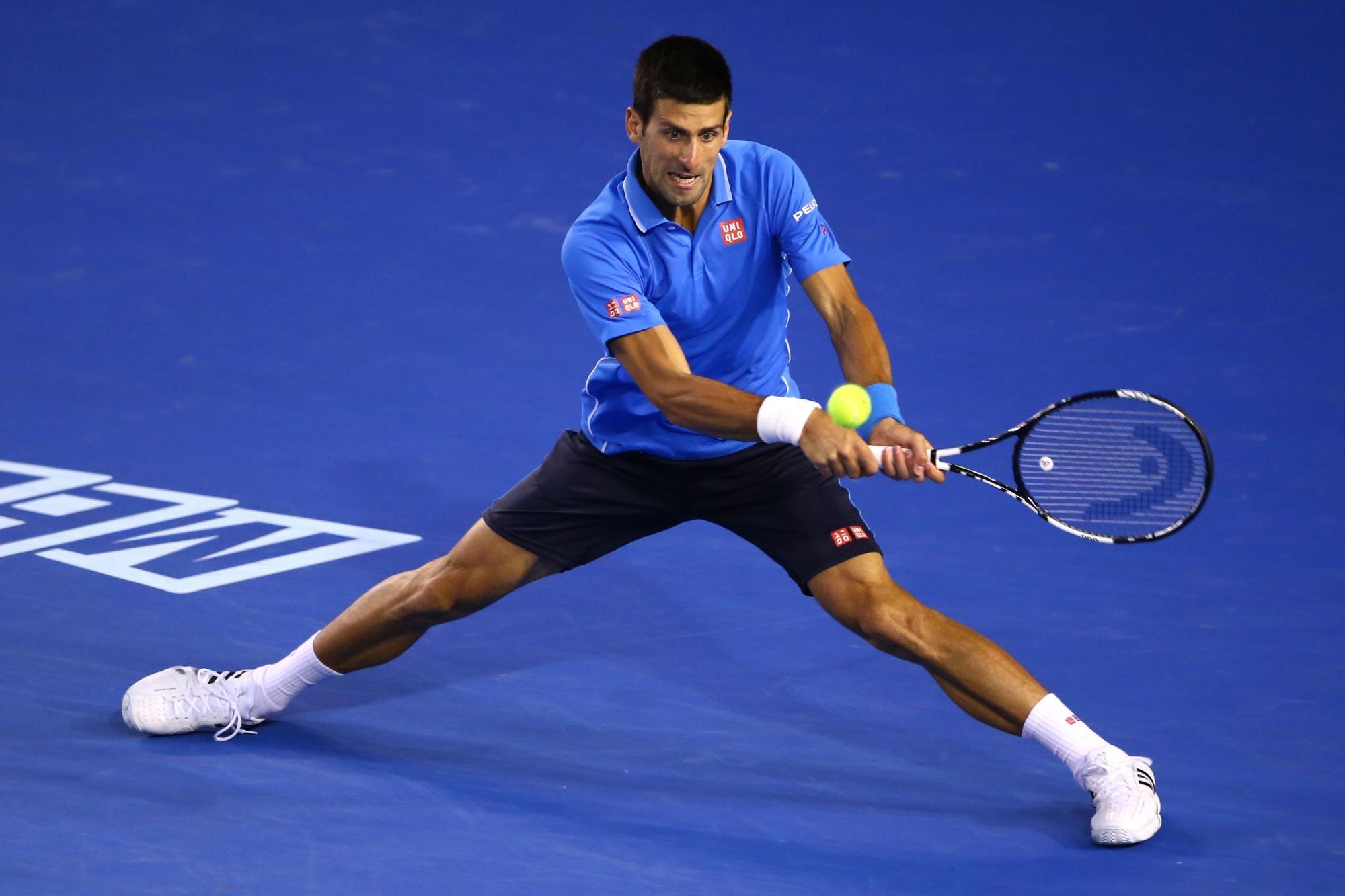 """""""дрыщь"""" на фото один из сильнейших теннисистов-мужчин Джокович"""