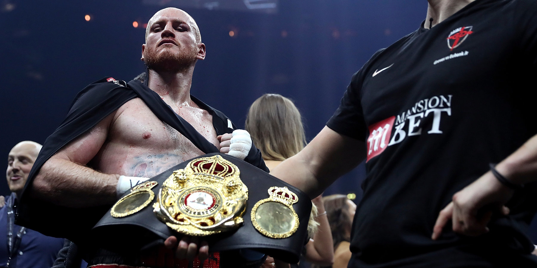Джордж Гроувз вышел вфинал глобальной боксерской серии