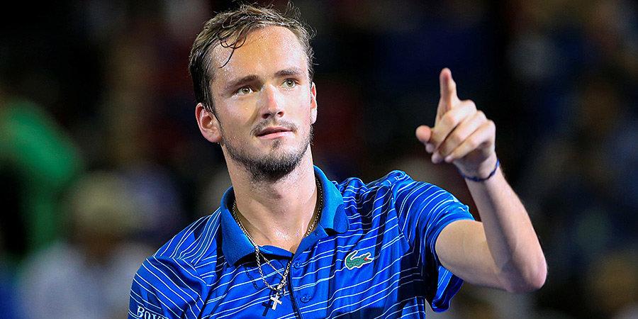 Медведев напомнил об исторической победе Давыденко перед началом Итогового турнира ATP
