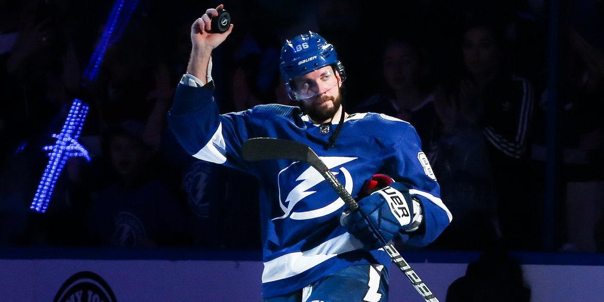 Кучеров признан лучшим крайним форвардом НХЛ по версии NHL Network