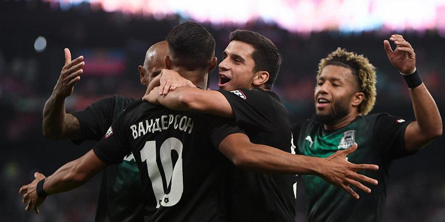 «Краснодар» спас матч с «Ростовом», отыграв два мяча в добавленное время