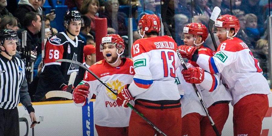 Российская молодежка взяла реванш у сборной лиги Онтарио и сравняла счет в Суперсерии