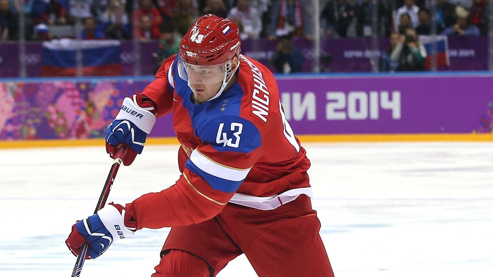«Даллас» желает вернуть себе нападающего сборной Российской Федерации Ничушкина через год