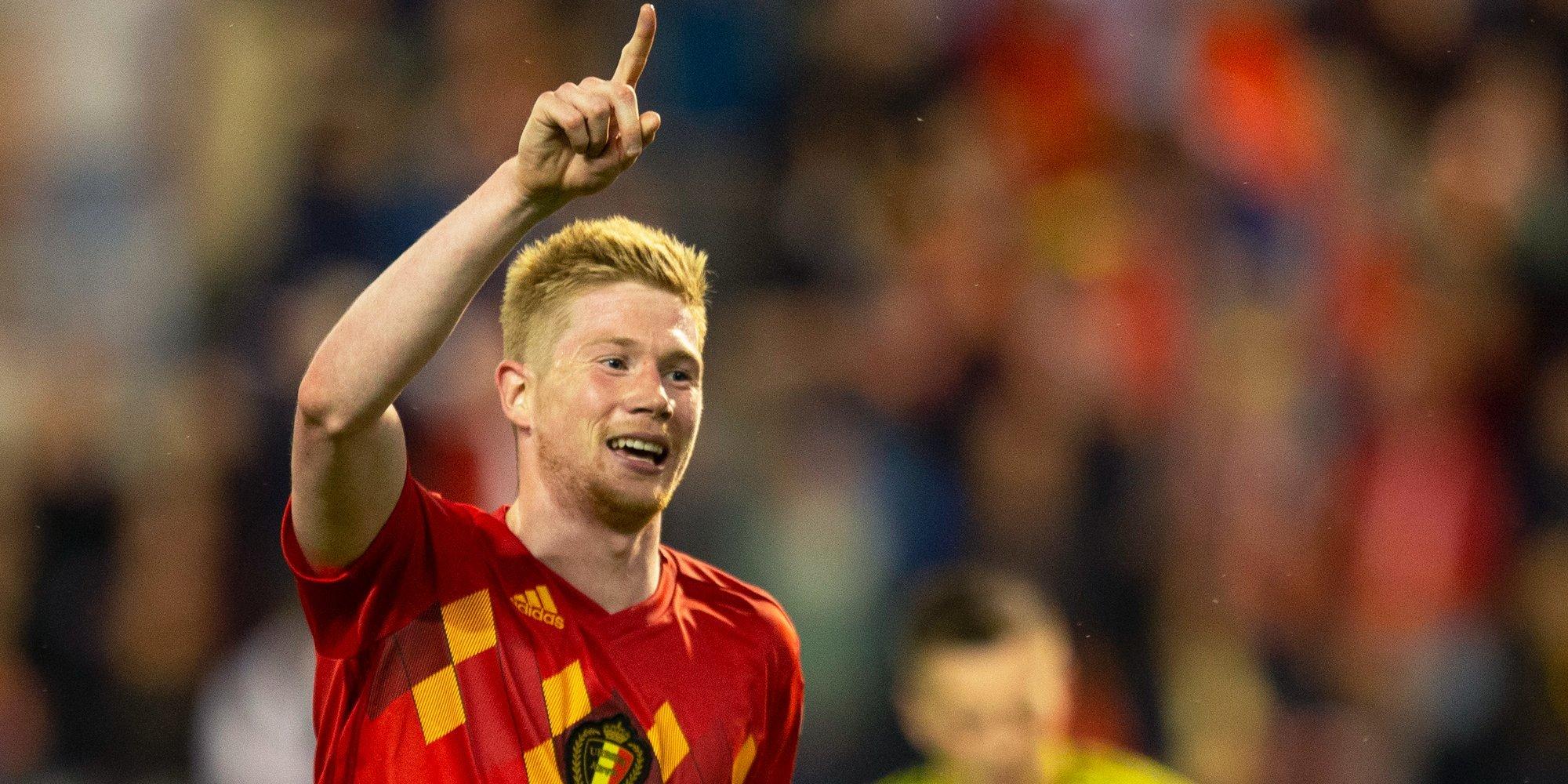Де Брюйне может пропустить матч против России на Евро-2020