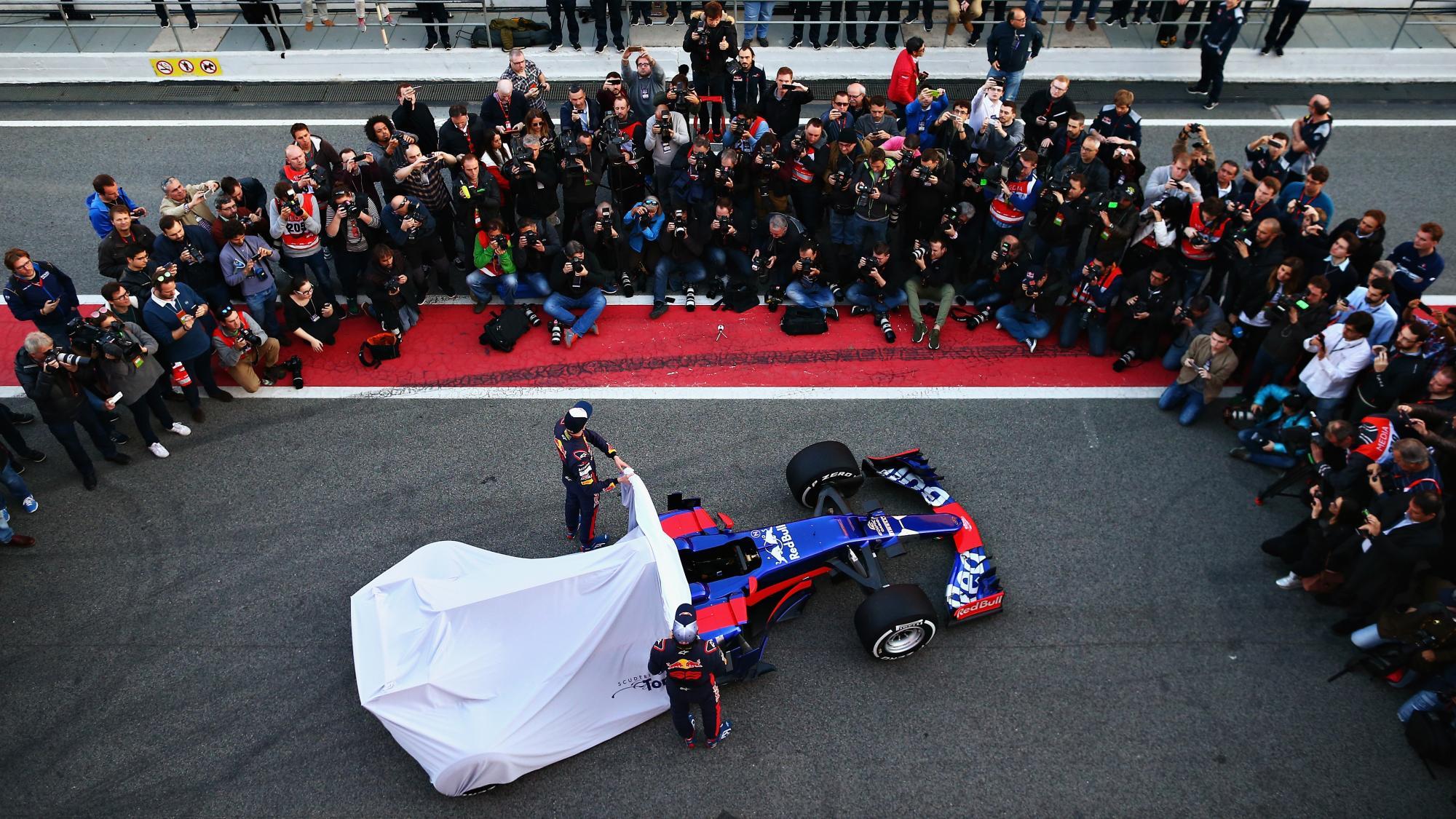 Квят: новая версия автомобиля «Торо Россо» небудет голубой