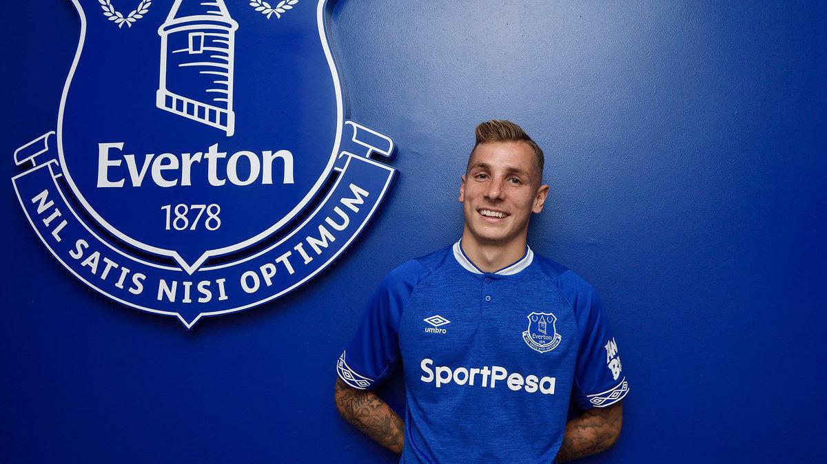 Динь согласовал условия нового контракта с «Эвертоном»