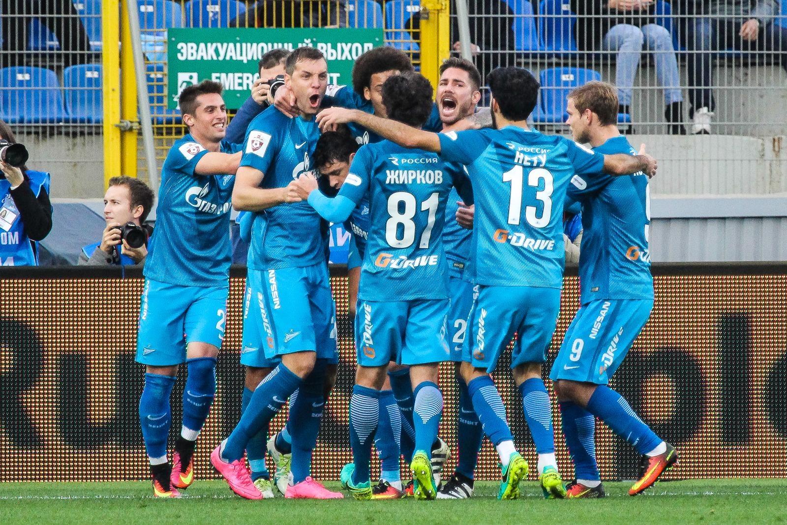 «Зенит» проиграл взаключительном матче группового этапа Лиги Европы