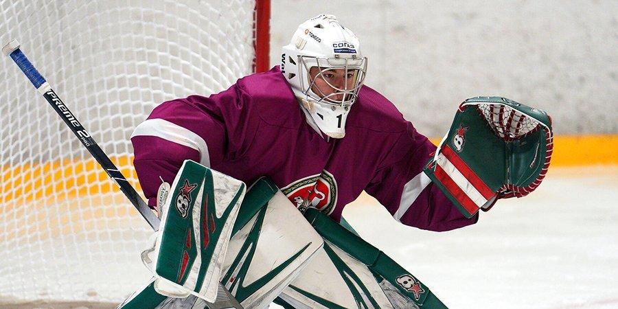 Голкипер «Тампы» Мифтахов отправлен в ECHL