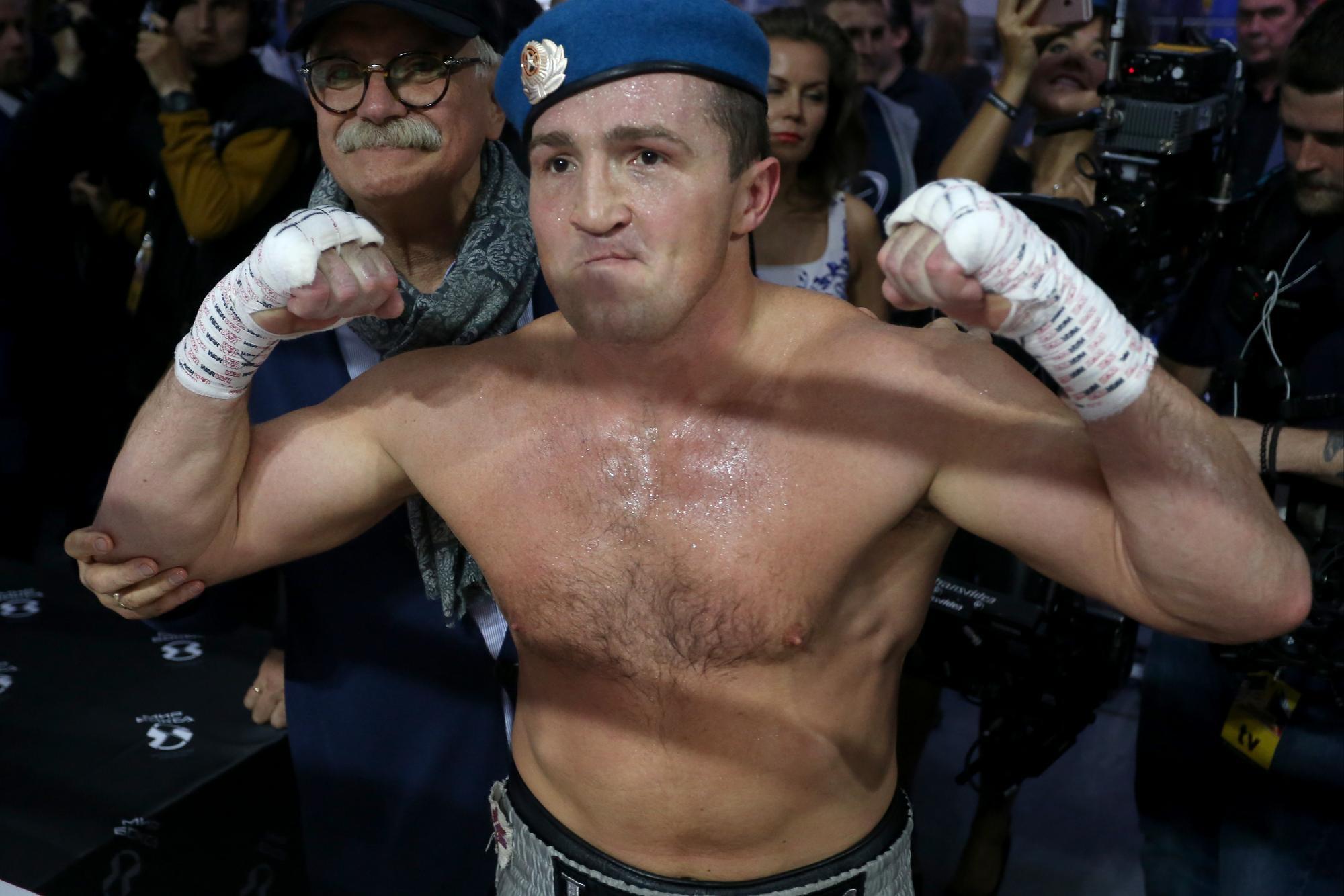 лебедев картинки боксер