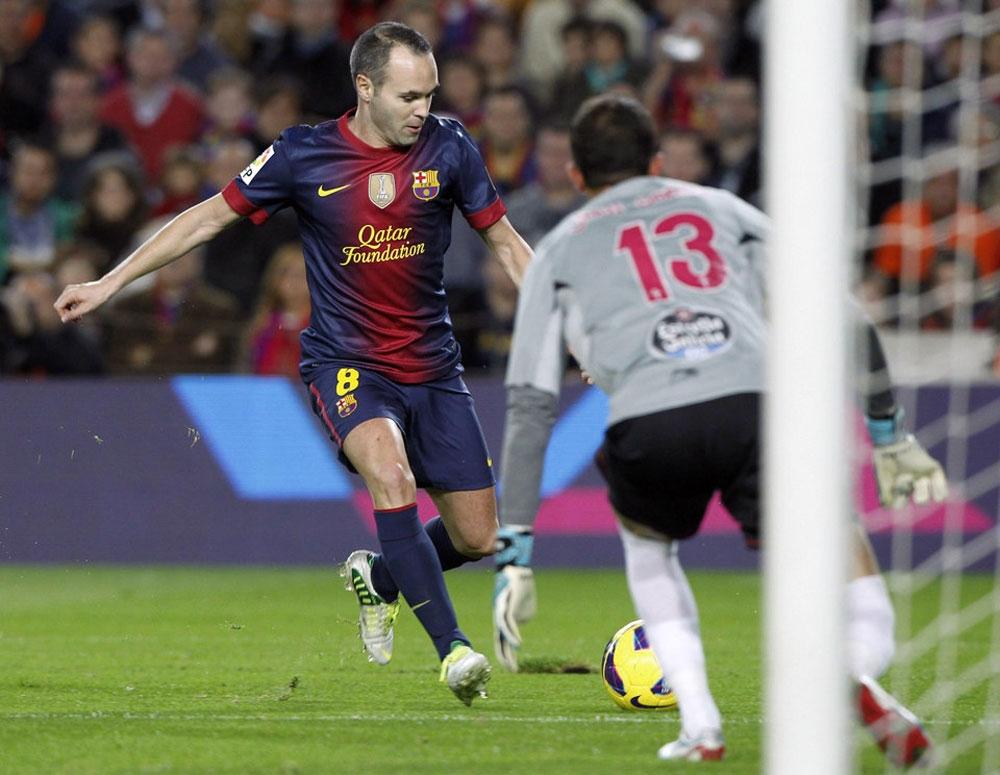Чемпионат Испании 2012-13. 10-й тур. Барселона - Сельта