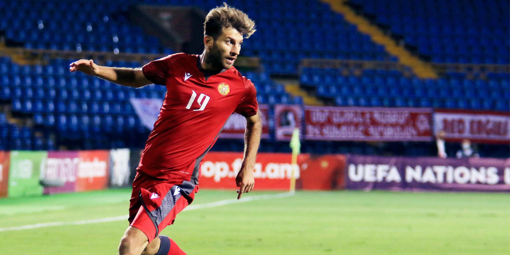 Сборная Армении обыграла Северную Македонию и поднялась дивизионом выше в Лиге наций
