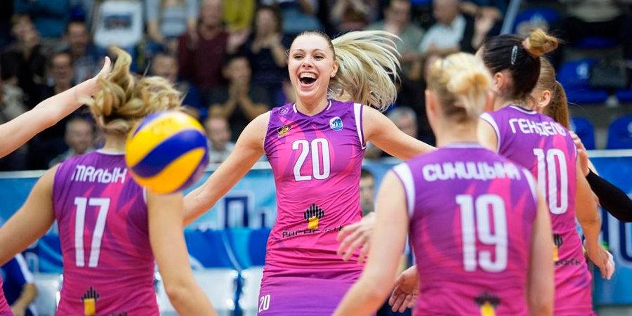 Волейболистки краснодарского «Динамо» завоевали бронзовые медали Кубка России