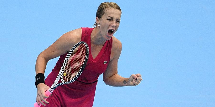 Павлюченкова вышла в финал «ВТБ Кубка Кремля»
