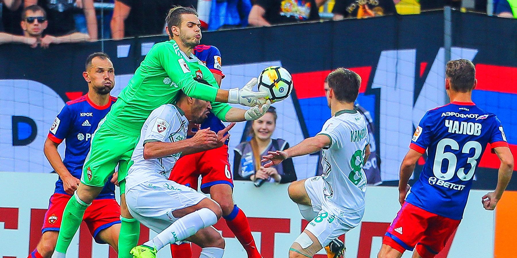 «Рубин» победил ЦСКА в столице России благодаря дублю Жонатаса