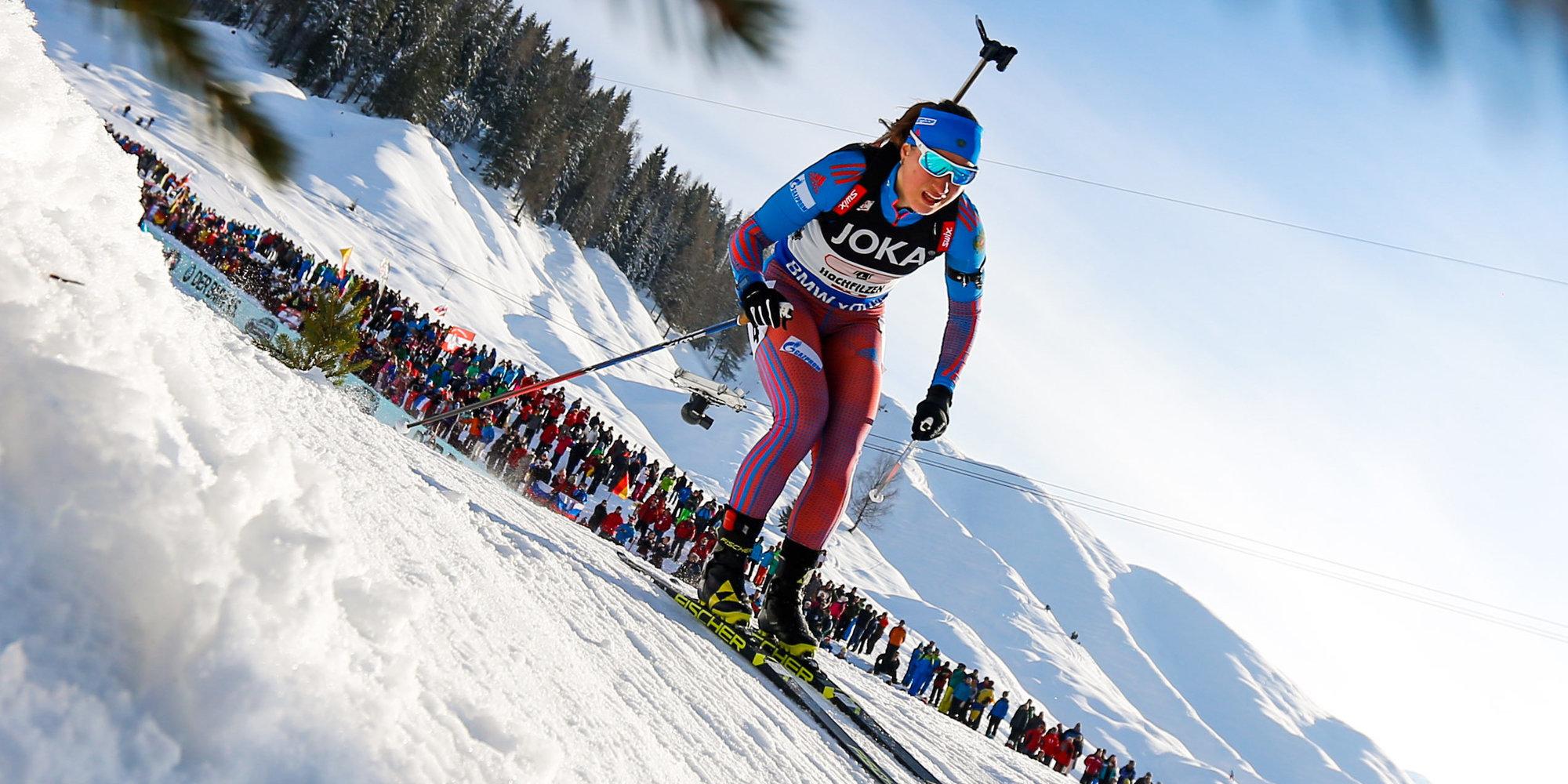 Йоханнес Бёодержал победу гонку преследования вХохфильцене