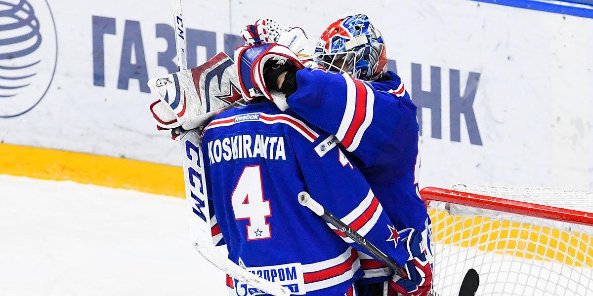 Шайба Рундблада помогла СКА обыграть «Локомотив» в первом матче серии