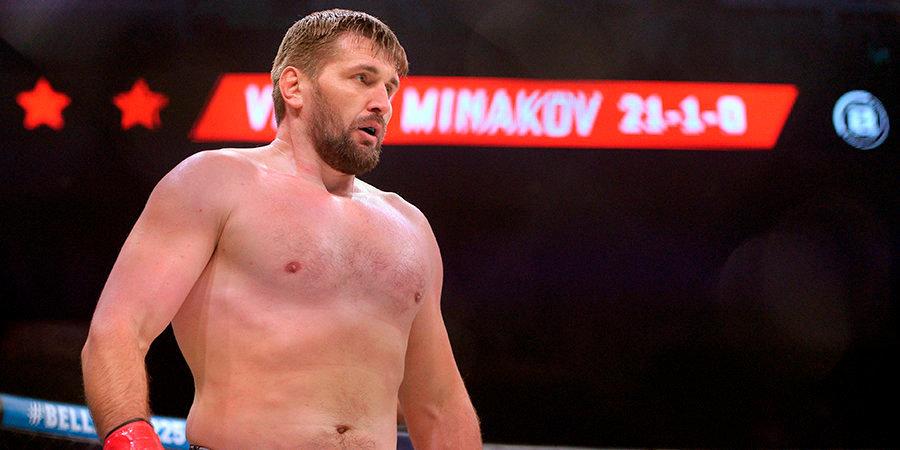 Стало известно, когда Минаков проведет следующий бой в Bellator