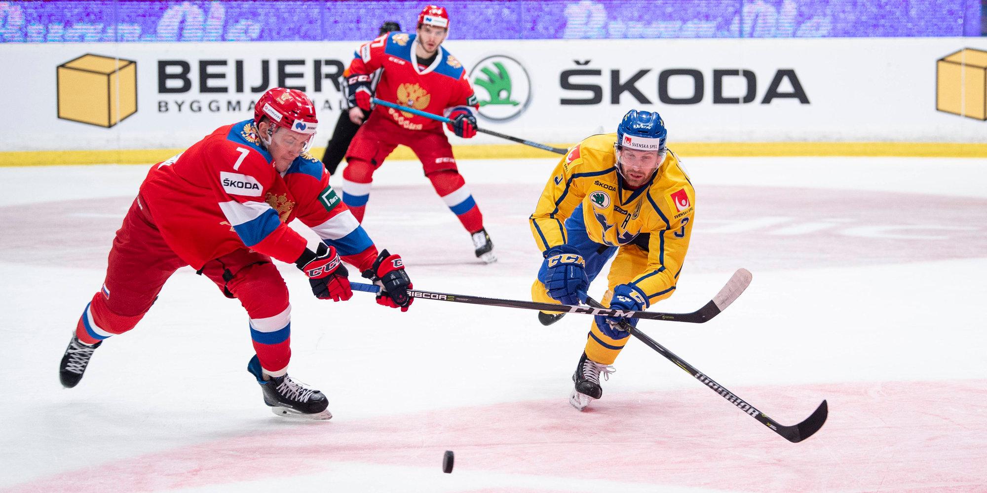 Сборная России уступила Швеции во втором матче этапа Евротура