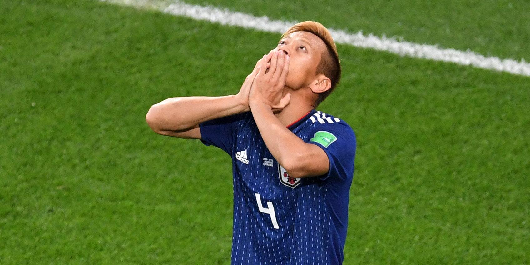 e856962c597a5 Хонда снова - герой Японии, а Польша сенсационно вылетела с турнира. Как  это было