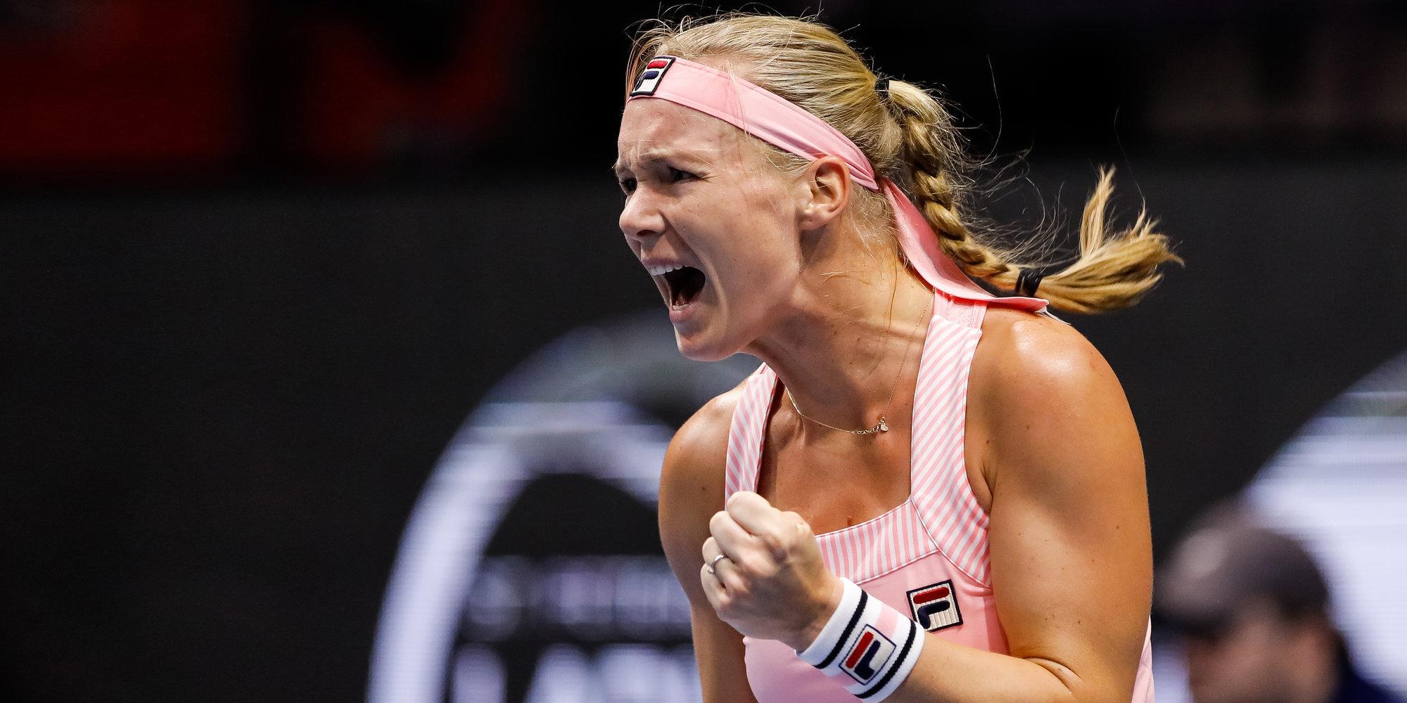 Бертенс обыграла Свитолину и вышла в полуфинал турнира в Пекине