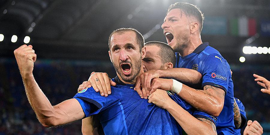 Кьеллини посвятил врачам победу на Евро-2020