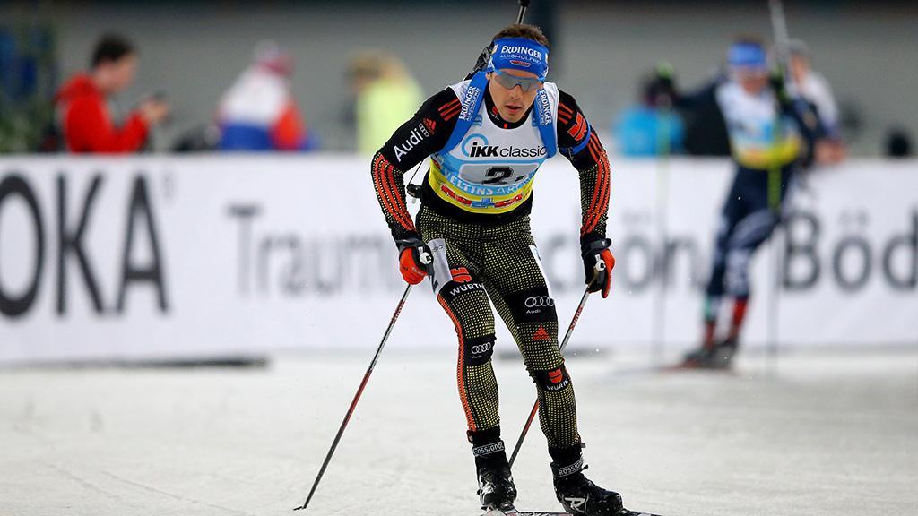 Биатлон: масс-старт вОберхофе одержал победу Шемпп, украинцы— втретьем десятке