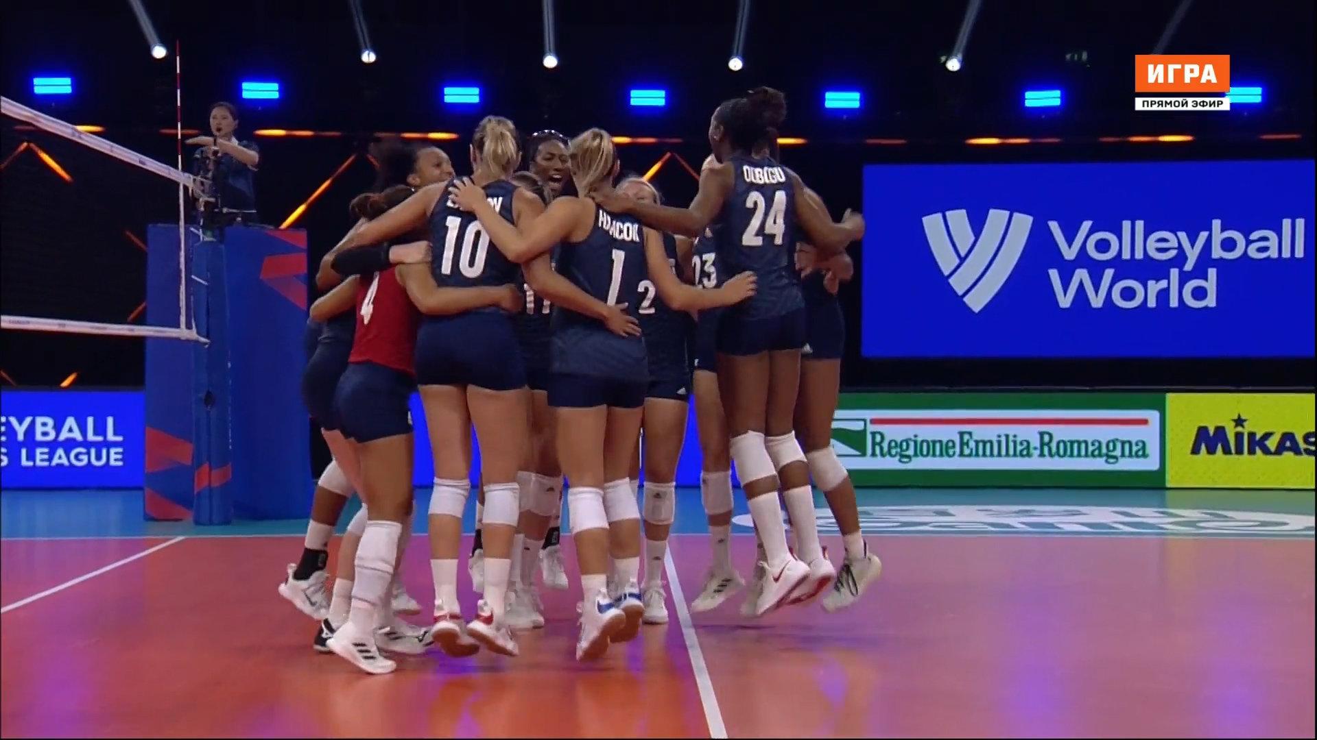 Сборная США выиграла женскую Лигу наций, обыграв в финале бразильянок