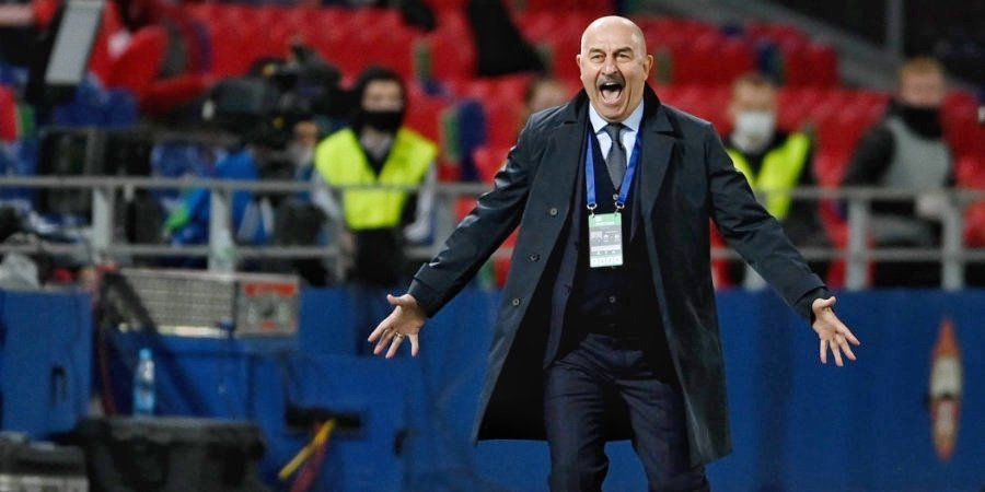 Черчесов рассказал, что ему понравилось и не понравилось в игре сборной России в матче со Швецией