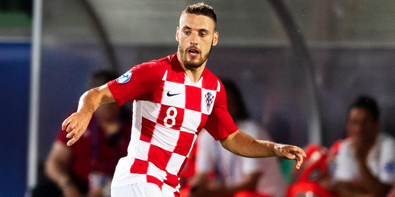Гол Влашича помог Хорватии обыграть Швецию в матче Лиги наций