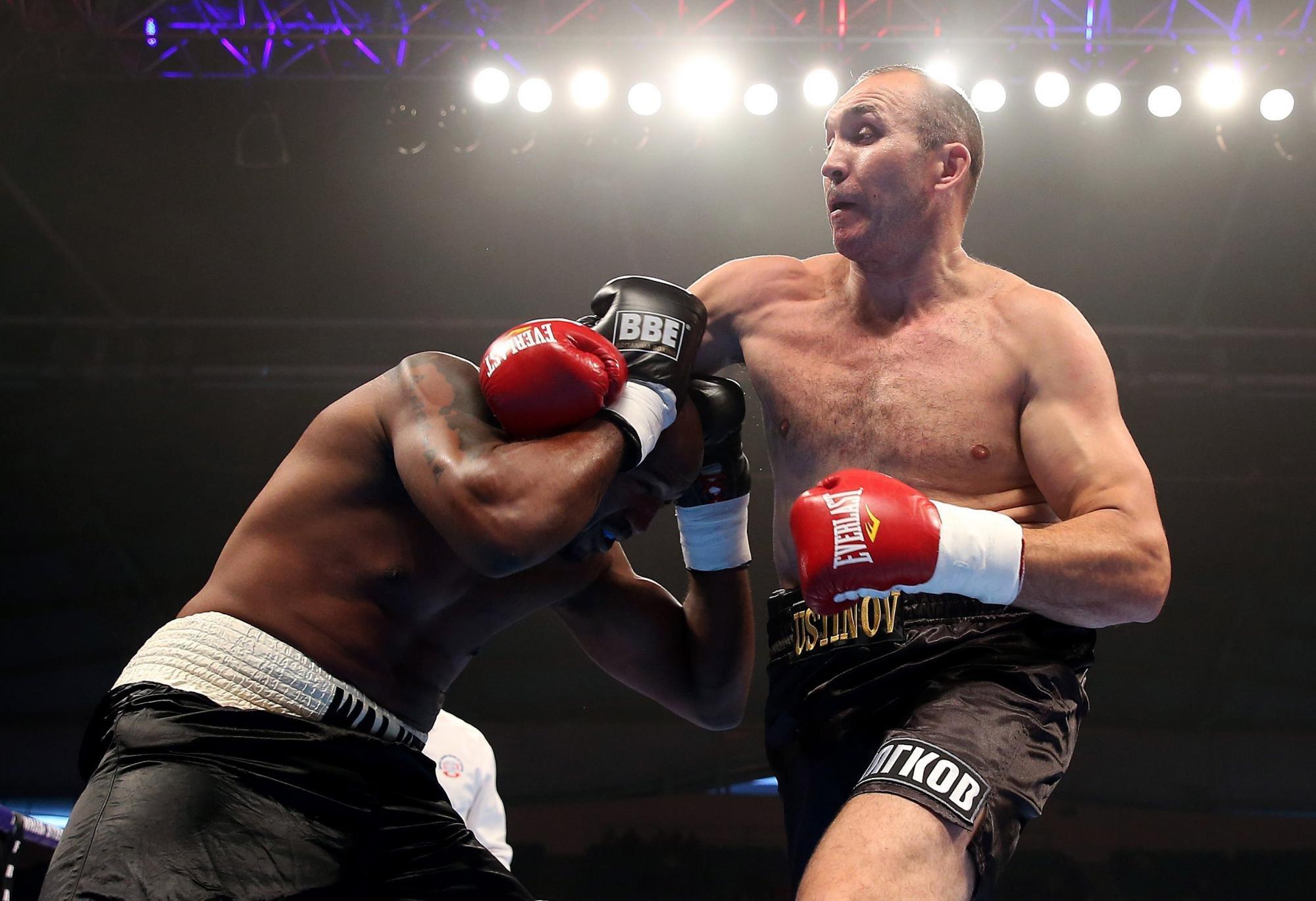 Устинов vsЧарр 25ноября затитул «регулярного» чемпиона WBA