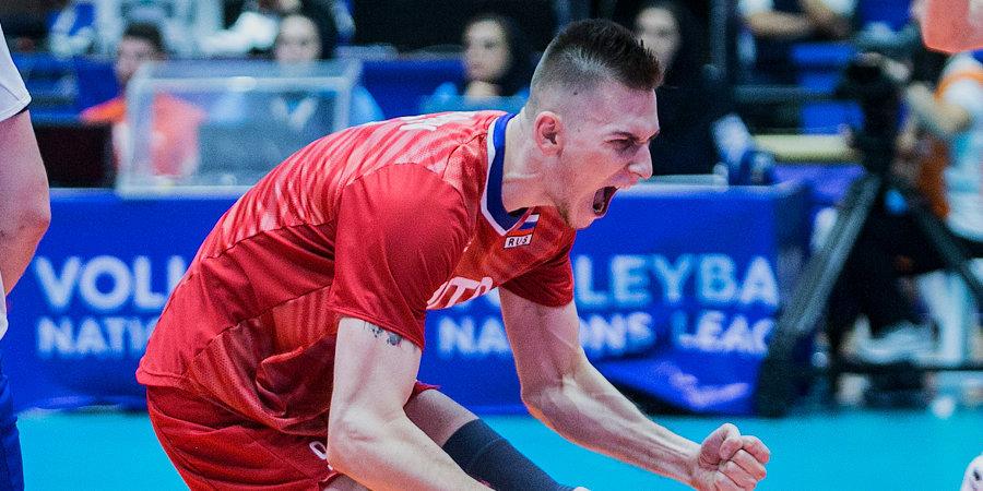 Сборная России вышла в финал Лиги наций