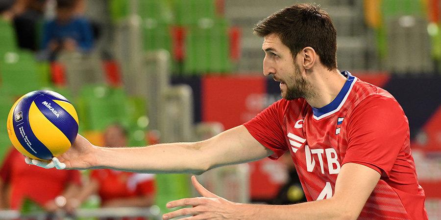 Российские волейболисты обыграли сборную Египта на Кубке мира