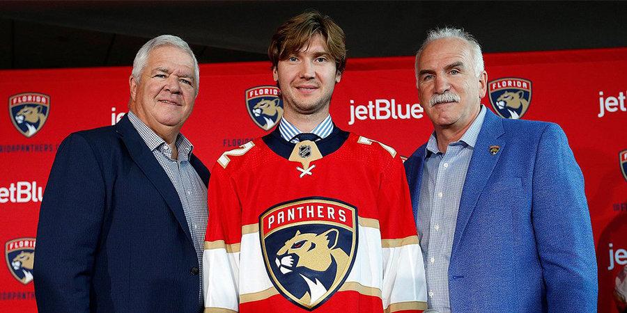 Бобровский представил шлем на предстоящий сезон НХЛ