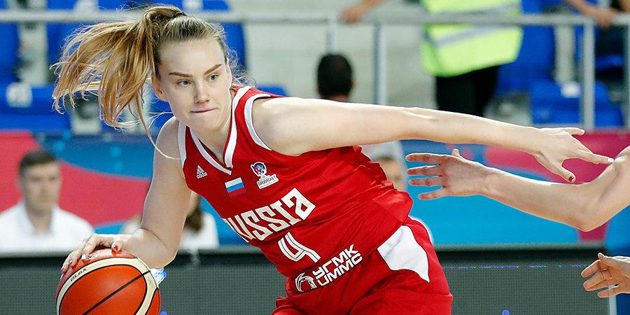Стали известны все четвертьфинальные пары женского Евробаскета