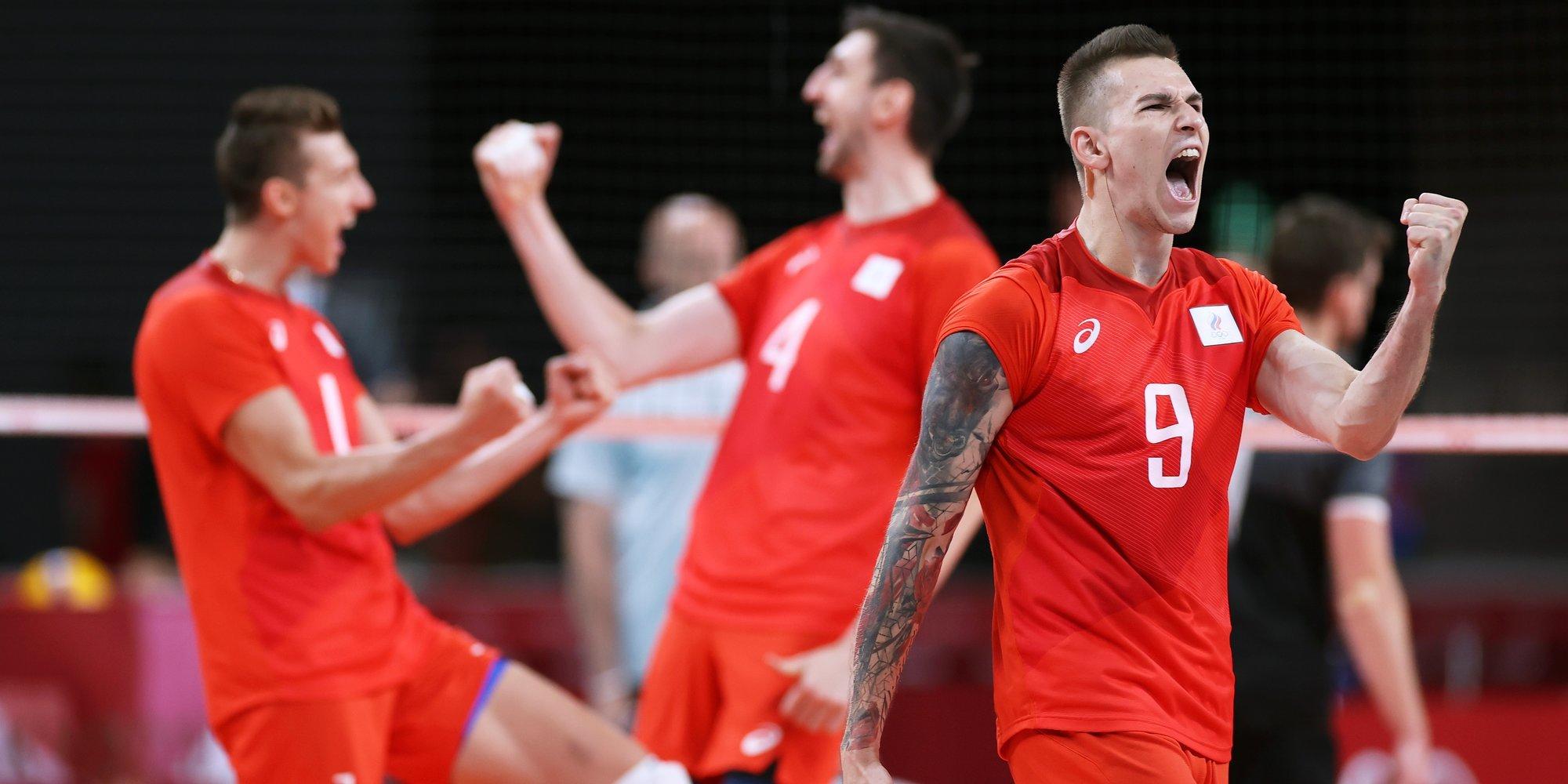 Сборная России по волейболу вышла в финал Олимпийских игр