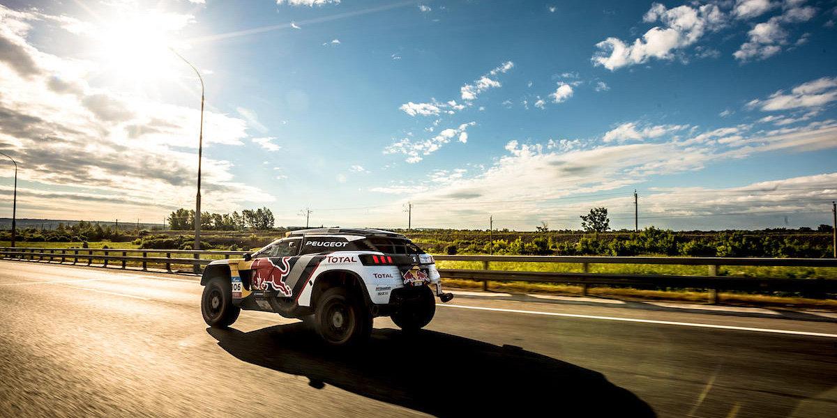 Экипаж Мардеева одержал победу 12-й этап ралли «Шелковый путь» взачете фургонов