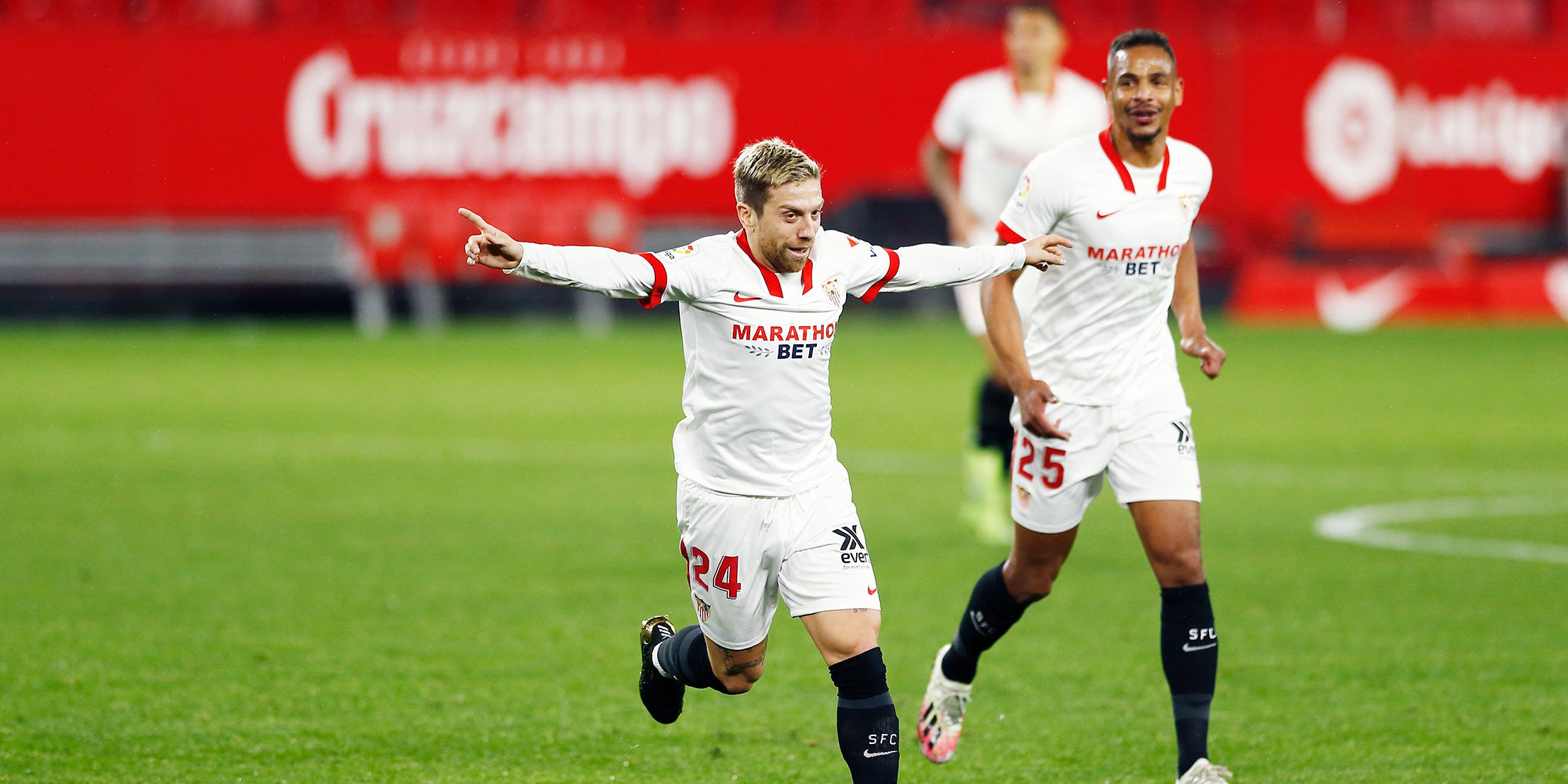 «Севилья» вышла победителем из матча с «Сельтой», где было забито 7 голов