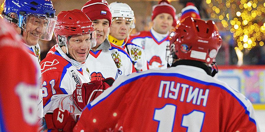 Песков сообщил, что Путин не планирует участвовать в  гала-матче Ночной хоккейной лиги