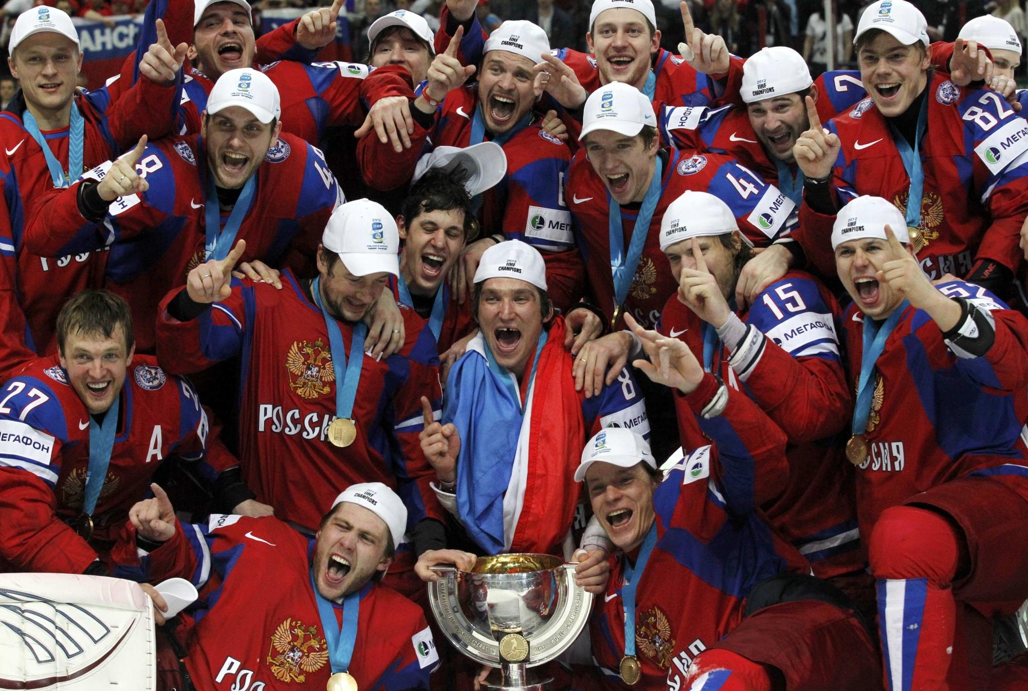 русские чемпионы хоккея фотострана произрастания