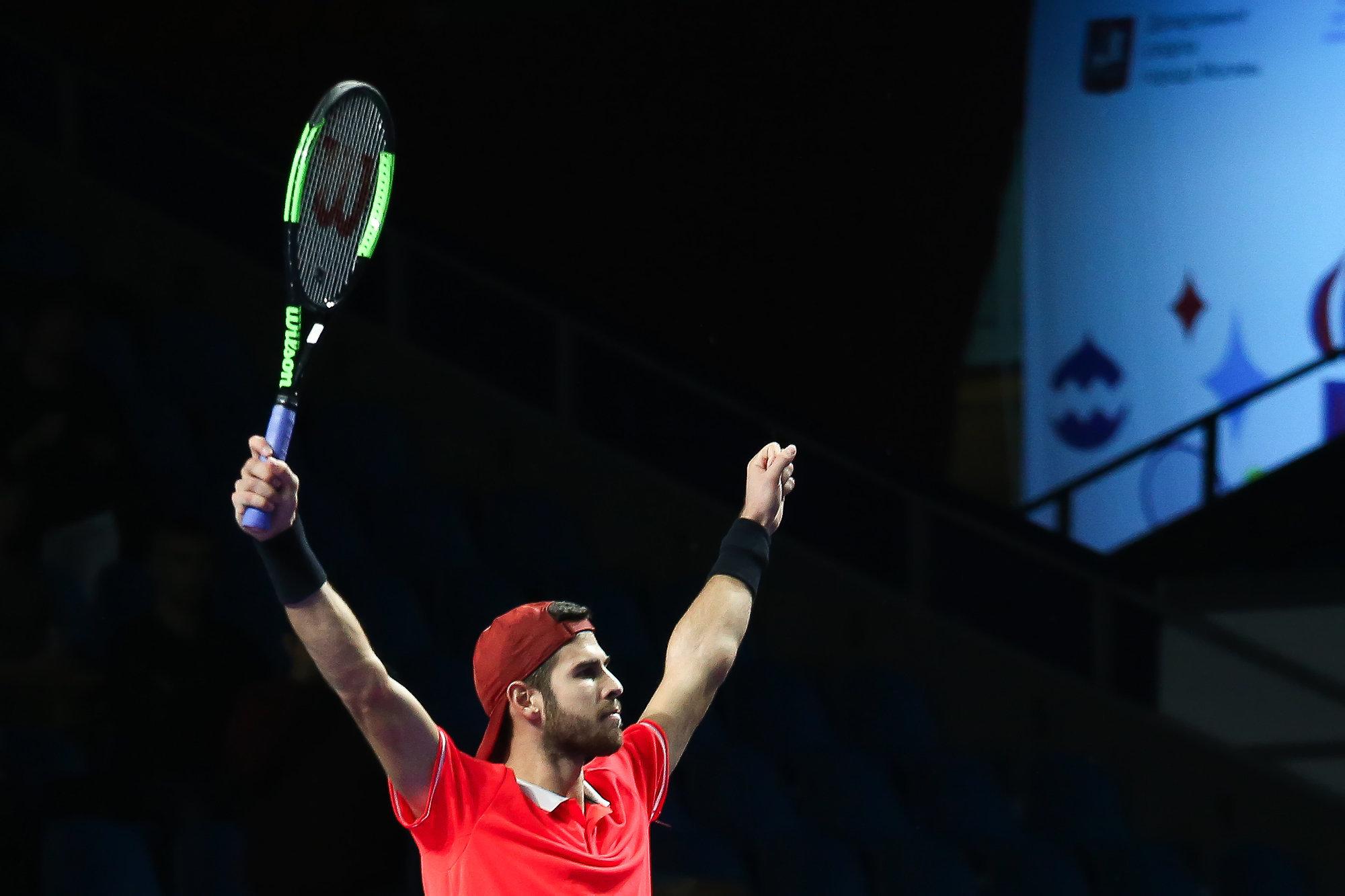 Карен Хачанов получил звание теннисиста года на церемонии премии «Русский Кубок»