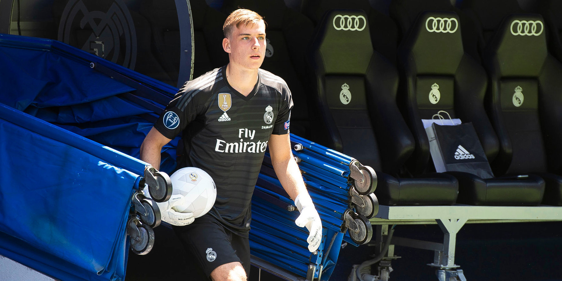 «Вальядолид» арендовал Лунина у «Реала». Игроком интересовался «Милан»