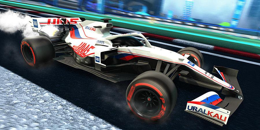 Болиды «Формулы-1» появятся в видеоигре Rocket League