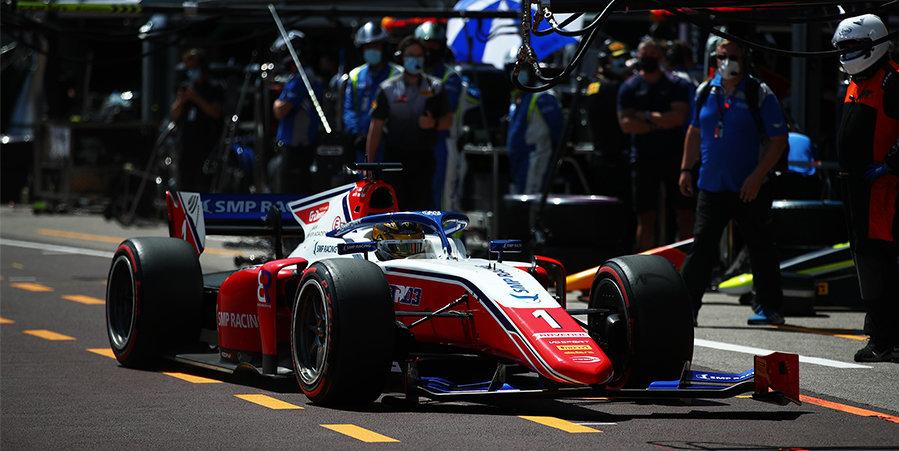 Шварцман выиграл первую гонку «Формулы-2» в Азербайджане