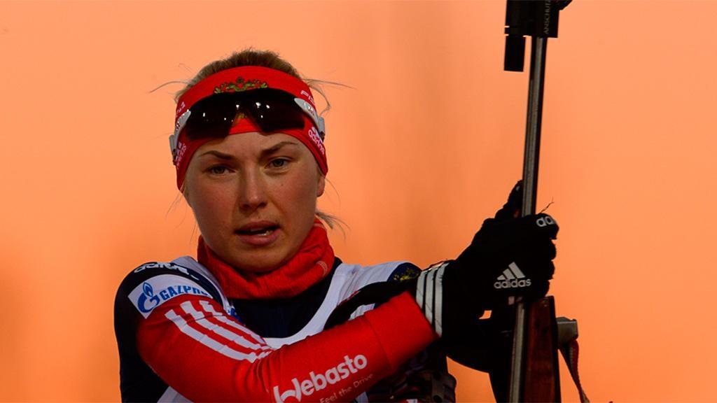 Биатлонистки Красноярского края выиграли дамскую эстафету начемпионате РФ вТюмени