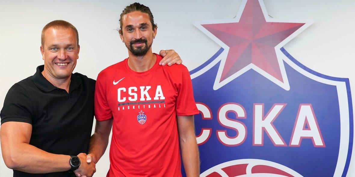 От себя не уйдешь. Алексей Швед вернулся в ЦСКА