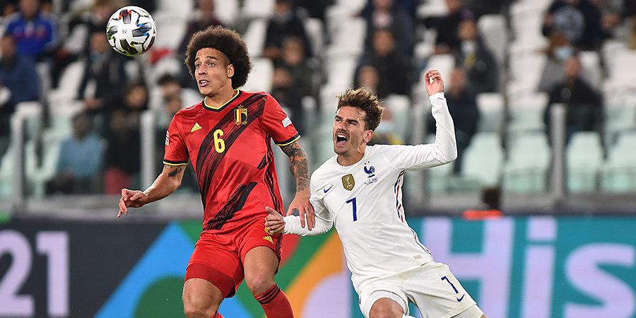 Французы победили Бельгию в полуфинале Лиги наций, отыгравшись с 0:2