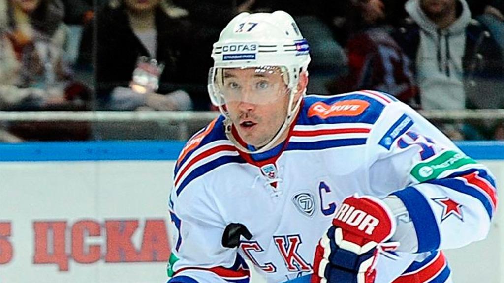 «Локомотив» победил СКА вматче КХЛ