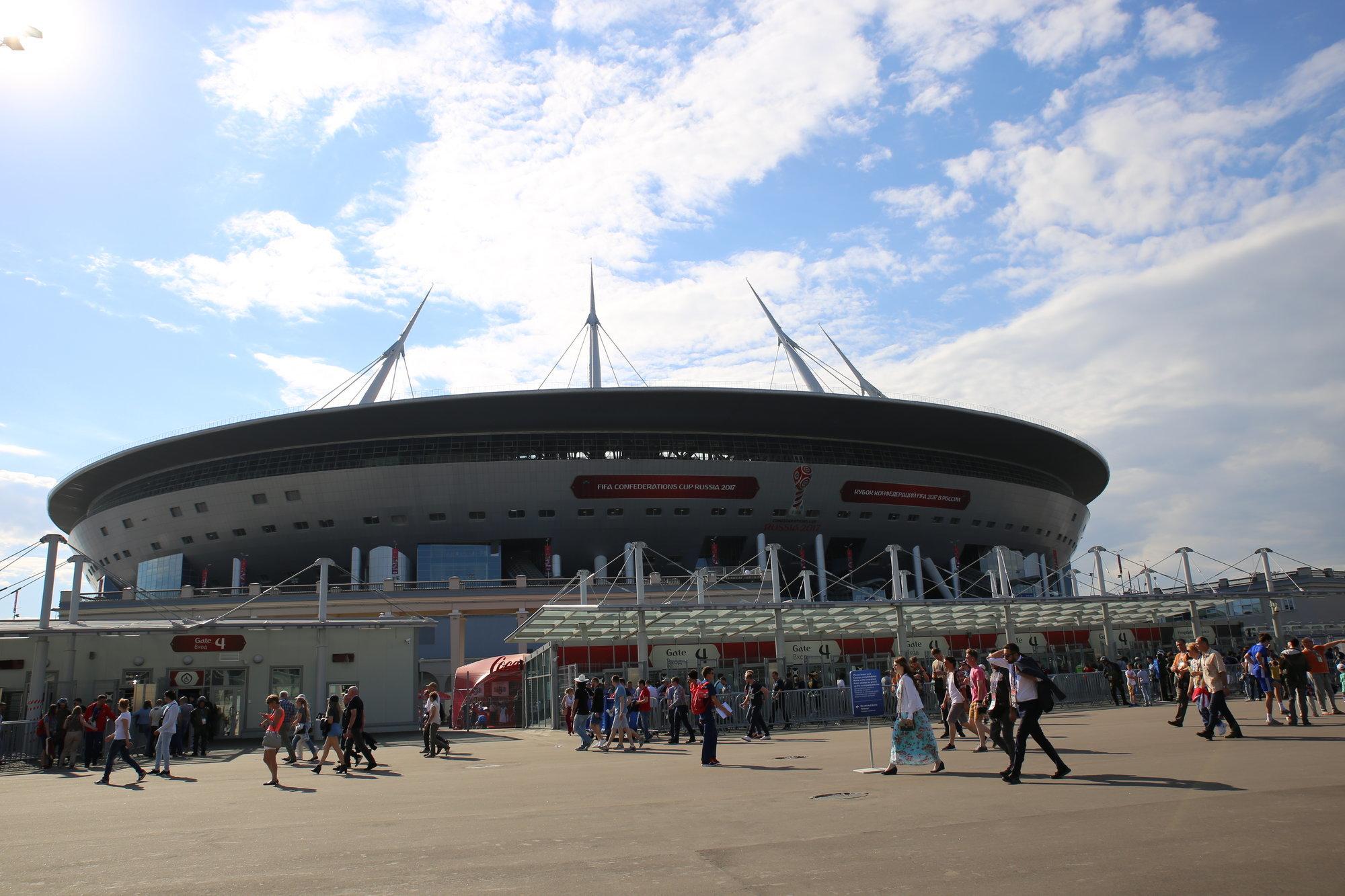 Вице-губернатор Санкт-Петербурга: Нафинал Кубка конфедераций реализовано 53 тысячи билетов