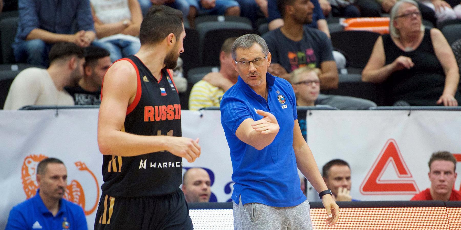 Сборная Российской Федерации обеспечила себе выход вплей-офф Евробаскета