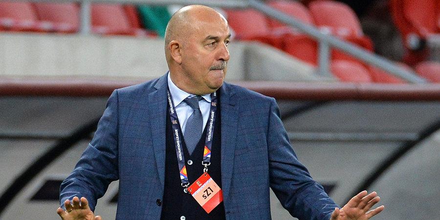 Станислав Черчесов: «Соболев забил великолепный гол, но нужно вписываться в командную игру»